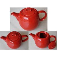 Teko Merah Elegant T.12cm - D.12cm | Ekspor Murah | Teko IP