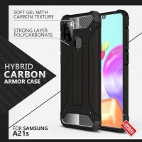 Armor Case Samsung A21s Softcase Hardcase Hard Silikon Casing Cover