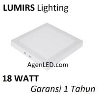 LUMIRS Lampu OUTBOW 18W LED Panel Kotak Putih 18 W Watt DOWNLIGHT OB C