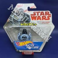 Hot Wheels Battle Rollers Star Wars Darth Vader Tie Advanced Grey