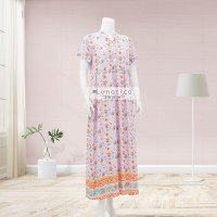 Lunaci Purple Charlotte Maxi Dress