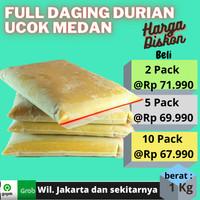 daging durian beku Medan ucok tanpa biji premium di Jakarta Bekasi