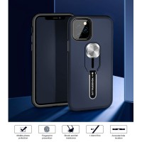 Honor 9 Lite - 9i Chic Beauty Silicone Ring Stand Rugged Armor Case