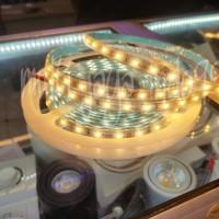 LED strip fleksibel DC 12V 5meter 5M ip67/lampu flexsibel strip 5M - Warm White
