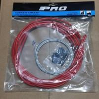 Kabel Luar Shifter Jagwire Merah Kabel Luar Rem Jagwire Komplit Sepeda