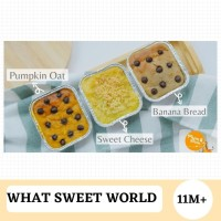 Paket MPASI 3 PAX Makanan Balita - What A Sweet World