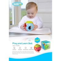 KIDSBABY PLUS PLAY AND LEARN BALL