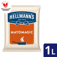 Hellmann's Mayo mayonnaise mayones mayonaise Magic Pouch 1L