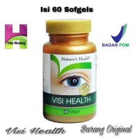 Natures Health / Nature's Health Visi Health / Vitamin Mata 60 Sofgels