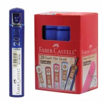 Faber Castell Lead Superfine Grip 2B 0.7 / Isi pensil mekanik Faber