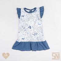 CUIT Ruffle Dress - Shika Series Renda