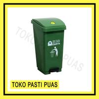 Tempat Sampah Injak Bio Dustbin 50 Liter Green Leaf 2160