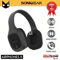 Headphones Sonicgear Airphone 5 Bluetooth 5.0 with Mic Long 10 Hours
