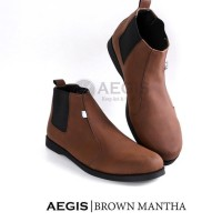 Sh9371 Crazy Deals Aegis Mantha Exclusive Sepatu Boots Casual Pria