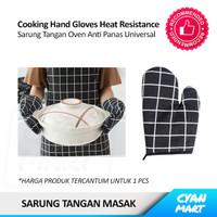 Sarung Tangan Masak Oven Anti Panas Cooking Kitchen Hand Gloves