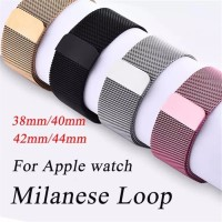 Strap Milanese Loop Apple Watch Iwatch series 1 2 3 4 5 38mm / 40mm