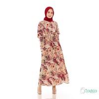 Dress Muslim Wanita | Hilya Maroon | Gamis Monalisa Original