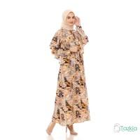 Dress Muslim Wanita | Hilya Cokelat| Gamis Monalisa Original