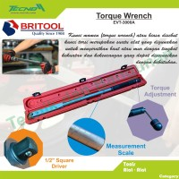Britool Torque Wrench / Kunci Moment EVT-3000A