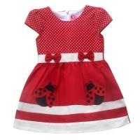 Two Mix Dress Bayi Cewek / Baju Bayi Perempuan 4010 - Fanta, M