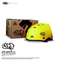 JPR SKATE 02 - FLUORESCENT YELLOW DOFF/BLACK
