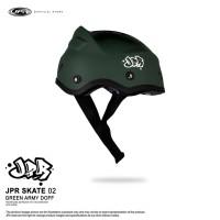 JPR SKATE 02 - GREEN ARMY DOFF/WHITE