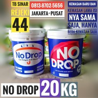 NO DROP NODROP PAIL 20KG - ABU ABU / PUTIH - CAT PELAPIS ANTI BOCOR .