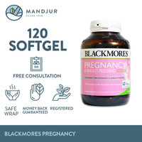 Blackmores Pregnancy & Breastfeeding Gold - Isi 120 Kapsul