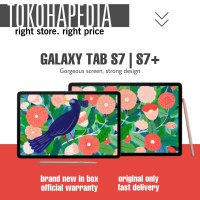 Samsung Galaxy Tab S7 | S7 PLUS with S Pen 128 / 256GB RESMI SAMSUNG