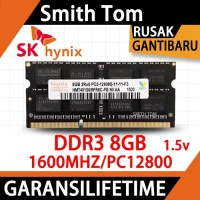 [BARU] RAM / MEMORY hynix SODIMM laptop DDR3 8GB 1600/12800 8G sodim