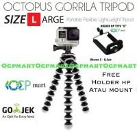 Octopus Gorilla LARGE Size Tripod with Mount Gorillapod Gopro Xiaomi