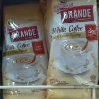 Kapal Api Grande White Coffee With choco Topping