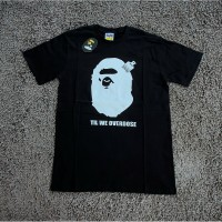 KAOS TSHIRT BAPE BIG APE FACE XO BLACK