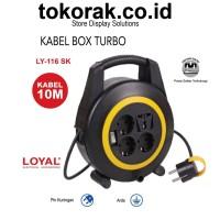 KABEL ROLL NEW BOX TURBO 10M SK LY-116 COLOKAN BOX LOYAL STOP KONTAK