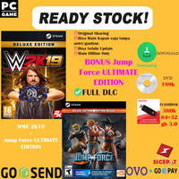WWE 2K19 + Jump Force ULTIMATE EDITION + DLC (PC ORIGINAL)