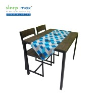Sleep Max Table Runner/Taplak Meja Panjang 38x145 Cm - Abstrak Biru