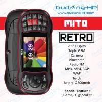 MITO Retro 3 SIM + Games Garansi Resmi