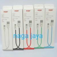 kabel charger dan data vizz tipe type c 100 cm fast charging
