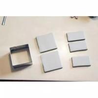 COOKIE CUTTER SQUARE, 8x4cm, Stainless Steel, Cetakan Kue Bentuk Kotak