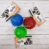 Mainan gigit kunyah anjing kucing karet dog toys rubber chew rattle