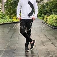 Chino pants cream - celana chinos pria warna cream