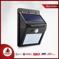 TaffLED Lampu Solar Sensor Gerak Outdoor Weatherproof 20 LED 460 Lumen
