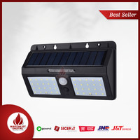 DUOGU Lampu Solar Sensor Gerak Outdoor Weatherproof 40 LED - L40