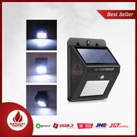 konesky Lampu Solar Sensor Gerak Outdoor Weatherproof 25 LED 6500K