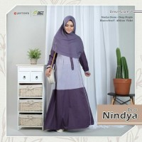 Gamis Nindya Dress by Yasmeera - Gamis Polos Murah