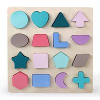 TweedyToys - Puzzle Chunky Huruf Makaron