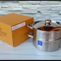BIMA Heritance BP121528 Pot Steamer 28cm Panci Tim Kukus Steam Tingkat