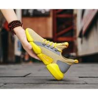 Pennay Sepatu Sneakers Pria Z1 Import Sol Karet Super Lentur - Putih, 40