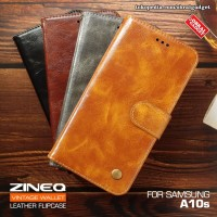 Wallet Leather Flip Case Samsung A10s Flipcase Cover Flipcover Casing
