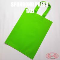 Spunbond Tali 30x40 Polos / Tas Kain / Kantong Kain / Goodie Bag/Goody